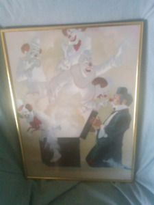 Vintage collectable painting, by Robbert Owens