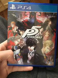 Persona 5 [PS4] Day One Edition