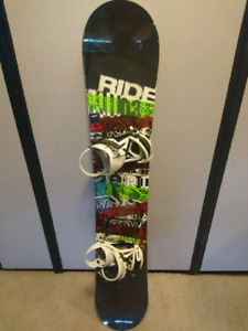 Ride Snowboard and Boots
