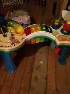 Stand and play musical toy