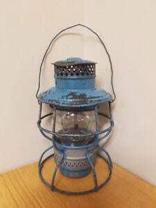 Lanterne antique du CNR (Canadian National Railway)