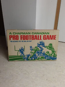 Vintage 1969 Chapmans Canadian Pro Football game $120obo