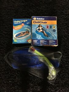 Brand New 2 Water Loungers and Flippers