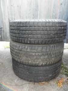 3 - 16 Inch All Season Tires with decent tread 265 70 16 . $80