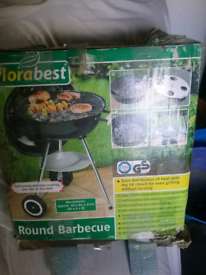 Florabest round barbecue charcoal never used