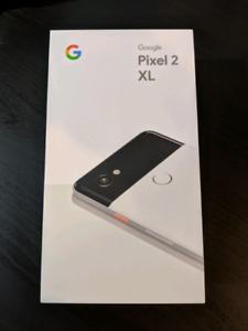 Google Pixel 2 XL 64GB Black/White (Panda) NIB