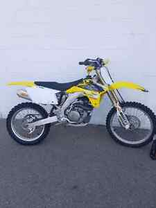 1 day only.  RMZ 450 only 52 hours.