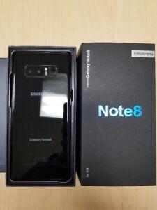Like New Unlocked Samsung Galaxy Note 8 for $800 w/ WARRANTY