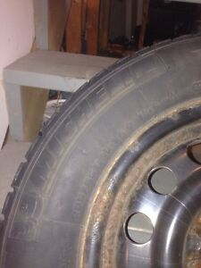 205/65r15 Michelin X-ice on rims!! West Island Greater Montréal image 3