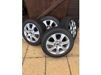 "VW GOLF WINTER TYRES 16"" £275"