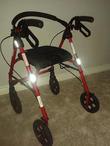 2 walkers and wheelchair
