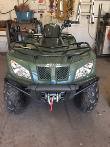 2014 400 arctic cat 4x4