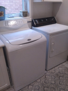 Electric washer/ Gas dryer