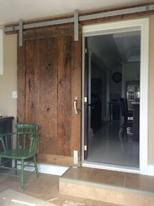 Barn doors and hardware rustic custom sliding Cambridge Kitchener Area image 3