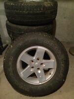 Jeep rims & tires
