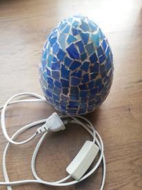 Blue light lamp