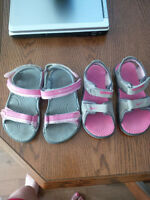 Girls Sandals (Nike and Columbia) Size 9 and Size 10