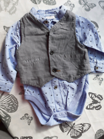 Baby Boys Wedding Suit 6-9 months.