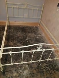 Kingsize metal bed frame for sale