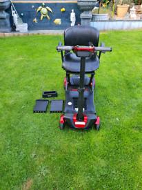 Mobility scooter 4mph auto fold 2019