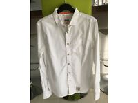 Superdry white shirt. Size medium