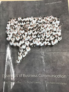 Textbook COMM 100 Essentials of Business Communication