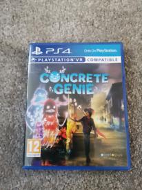 Concrete genie ps4 game
