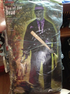 Don Of The Dead Adult One Size Fits Most Halloween Costume