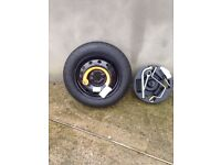 Chrysler Ypsilon spare wheel