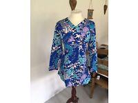 Vintage 70s handmade dress 14-16