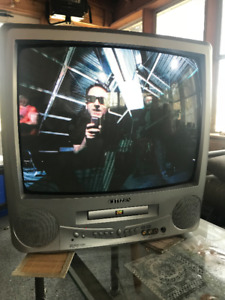"Citizen combination   19"" Color Stereo TV DVD. Used very little."