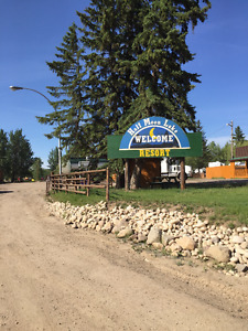 Lakeside RV sites for sale 30 minutes from Edmonton