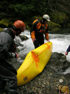 Wanted- damaged white water kayak