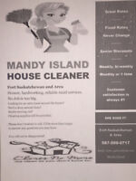 Housekeeping, house cleaner, maid services