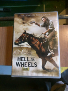 Hell on Wheels the complete third season