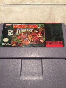 Donkey Kong Country and instructions manual snes Kitchener / Waterloo Kitchener Area image 5