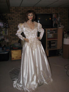 YOU CAN SAY YOU GOT YOUR WEDDING DRESS FOR A WHOPPING $50, lol