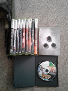 Misc XBOX 360 games, dead to rights XBOX game
