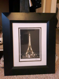 Eiffel Tower Picture & Frame