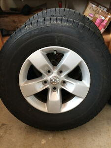 New Dodge Ram Stock Wheels and Tires
