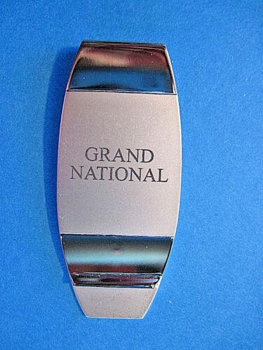 GRAND NATIONAL -  money clip ORIGINAL BOX