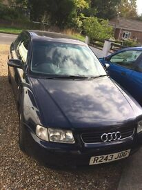 Audi A3 1997 blue breaking all parts available
