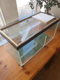 Hamster Cage / Gerbilarium with Accessories and carrier