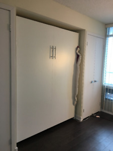 murphy bed for sale. Murphy Bed ( Wall Bed) - Almost New $499 OBO For Sale E