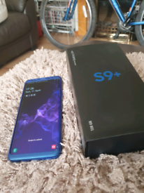 Samsung s9 plus unblocked cracked glass