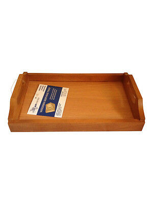 Wooden Tea Tray Serving Tray with handles 30CM X 21CM X 6CM Excellent Quality