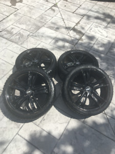 4 Winter tires with DAI Alloy Rims