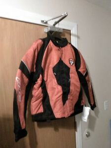 HJC STORM S16 BREATABLE SNOWMOBILE JACKET RED