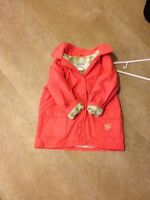 Girl's size 24 fall/spring lined coat