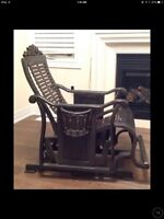Beautiful rocking chair for sale